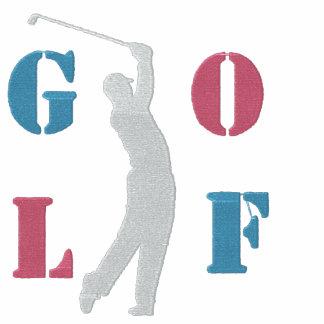 Las mujeres del golf bordaron la camiseta larga de