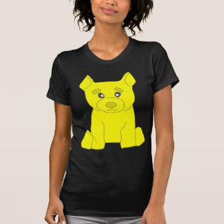 Las mujeres del oso del amarillo del TBA Camisetas