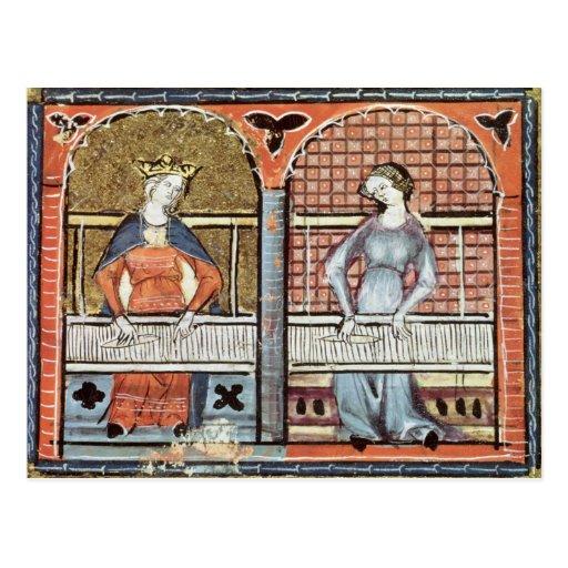 Las mujeres, Ovide Moralise escrito por Chretien L Postales