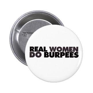 Las mujeres reales hacen Burpees Pins