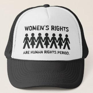 Las mujeres son gente también gorra de camionero