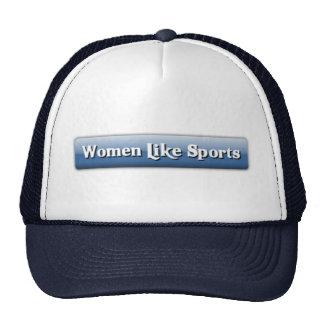 Las mujeres tienen gusto del gorra de los deportes