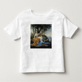 Las musas, Clio, Euterpe y Thalia, c.1652-55 Camiseta