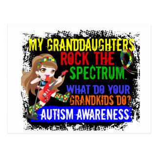 Las nietas oscilan el autismo del espectro postal