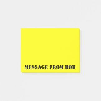 Las notas de Bob