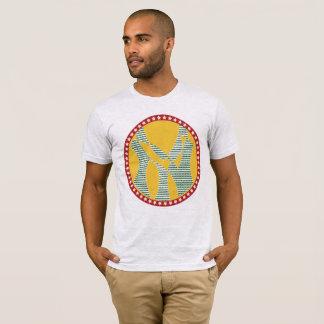 Las nuevas ilustraciones de la N.Y. de la cadera Camiseta