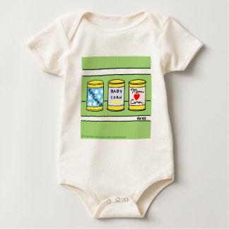 Las nuevas madres del bebé de la camisa divertida