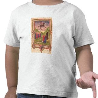 Las nueve musas que tocan los instrumentos camiseta