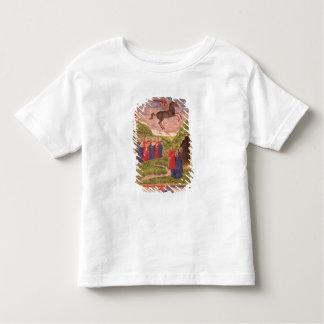 Las nueve musas que tocan los instrumentos camiseta de bebé