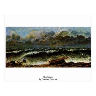 Las ondas de Courbet Gustavo Postales