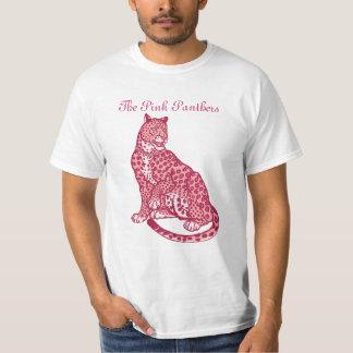 Las panteras rosadas camiseta