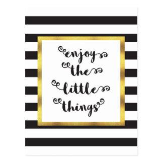 Las pequeñas cosas postal