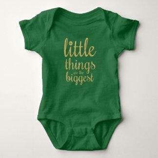 Las pequeñas cosas son el mono más grande del | body para bebé