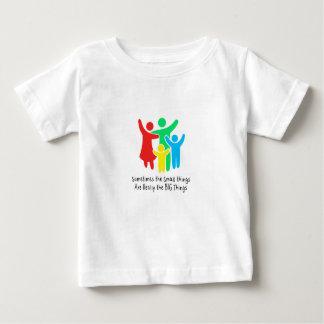 Las pequeñas cosas son realmente las cosas grandes camiseta de bebé