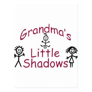 Las pequeñas sombras de la abuela postal