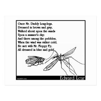 Las piernas largas del papá y la mosca postal