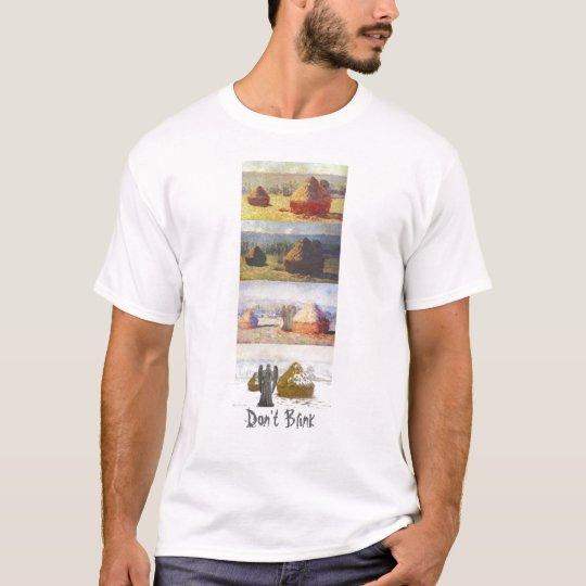 Las pilas del trigo no centellan camiseta