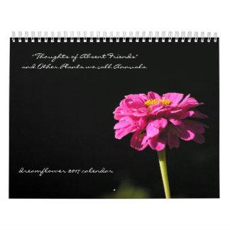 Las plantas llamamos publicaciones anuales: calendario de pared