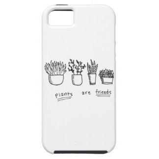 Las plantas son caso de los amigos funda para iPhone SE/5/5s