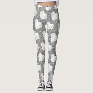 Las polainas de la desintegración leggings