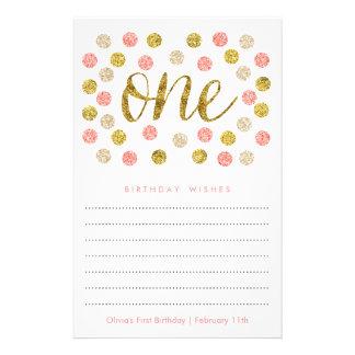 Las primeras tarjetas |Pink del deseo del Folleto 14 X 21,6 Cm
