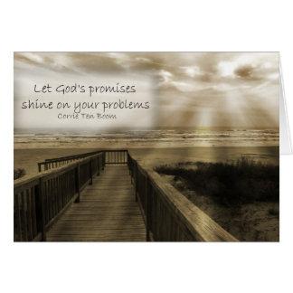Las promesas de dios tarjeta pequeña