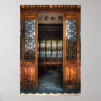 Las puertas del templo póster