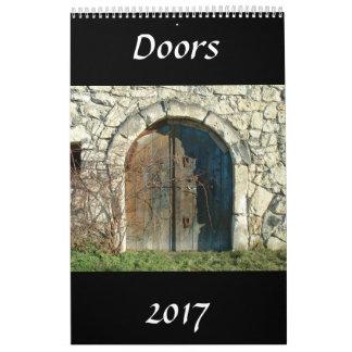 Las puertas hacen calendarios 2017