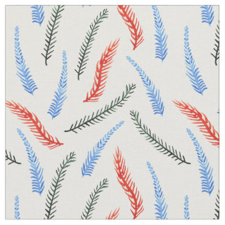 Las ramas peinaron la tela de algodón