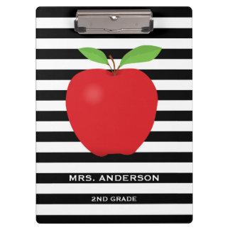 Las rayas negras, Apple rojo personalizaron al Carpeta De Pinza