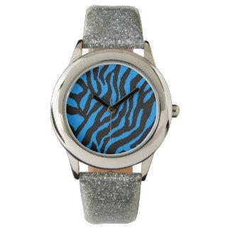 Las rayas retras del tigre del tigre 80s de Corey Reloj De Mano