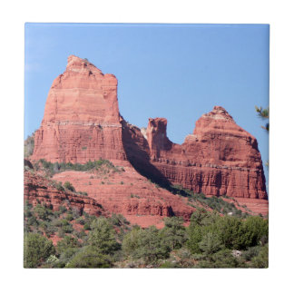 Las rocas acercan a Sedona, Arizona Azulejo De Cerámica