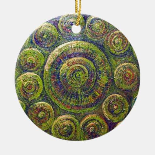 Las ruedas (simbolismo geométrico religioso) adornos de navidad