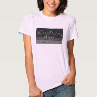 Las señoras bien escritas T de la mujer Camisetas