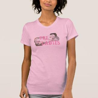 Las señoras camiseta