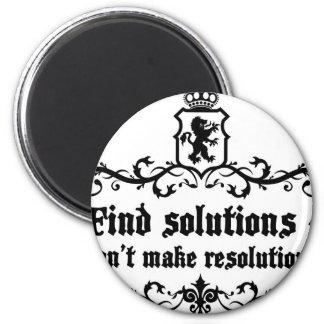 Las soluciones Donn't del hallazgo hacen Imán