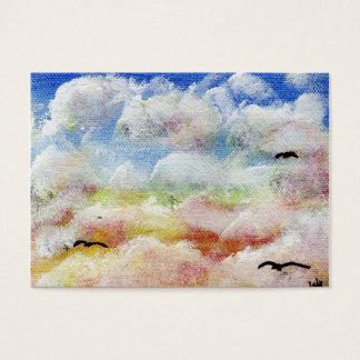 Las tarjetas de comercio del arte del viaje ACEO