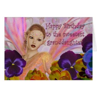 Las tarjetas de cumpleaños de la nieta - modifiqúe