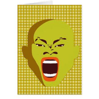 Las tarjetas de felicitación del estudio grosero