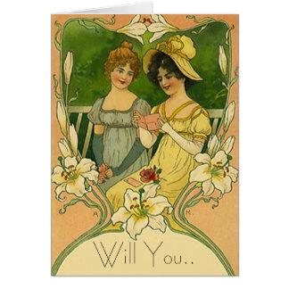 Las tarjetas de la tarjeta de la petición del flor