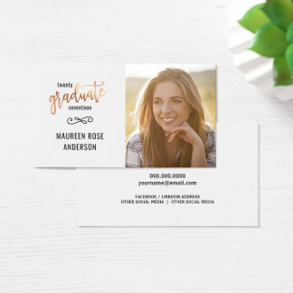 Las tarjetas de presentación de la foto de la