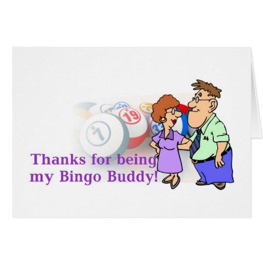 Las tarjetas del bingo - gracias