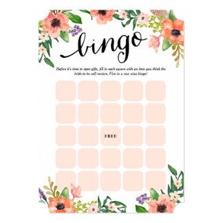 Las tarjetas nupciales más dulces del bingo del invitación 12,7 x 17,8 cm