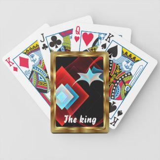 Las tarjetas que juegan al rey Apop View observan Barajas