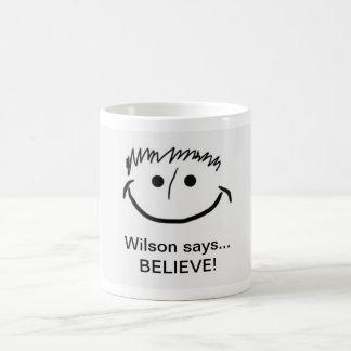 ¡Las tazas inspiradas de Wilson que Wilson dice