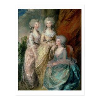 Las tres más viejas hijas de George III: Princesa Postal