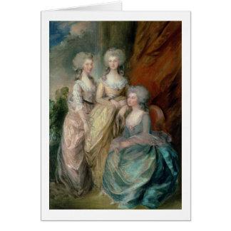 Las tres más viejas hijas de George III: Princesa Tarjeta