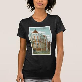Las tumbas y el edificio del Tribunal Penal, NY Camisas