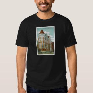 Las tumbas y el edificio del Tribunal Penal, NY Camisetas