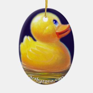 Las vacaciones del pato de goma adorno para reyes